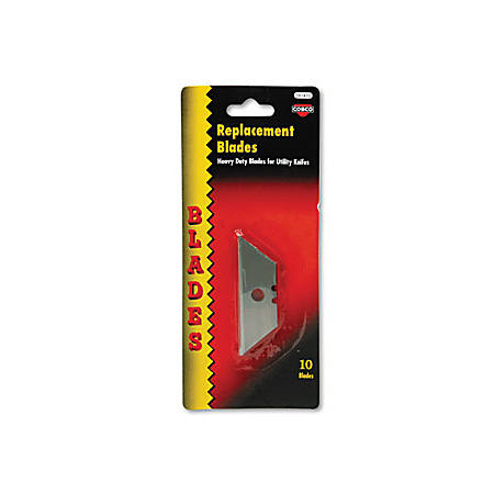 COSCO Utility Knives Replacement Blades - 1 Pack - Silver