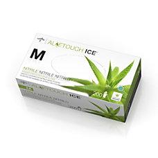 Medline Aloetouch Ice Powder Free Nitrile