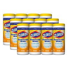 Clorox Disinfecting Wipes Citrus Blend Scent