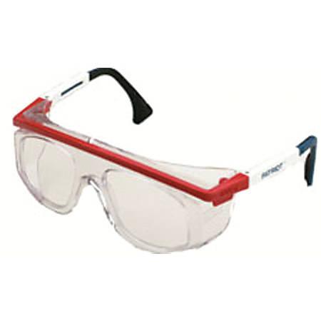 Astrospec Rx 3000 Eyewear, Clear Lens, Blue/Red/White Frame