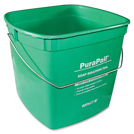 Impact Products PuraPail 6-Qt Utility Cleaning Bucket - 6 quart - Green