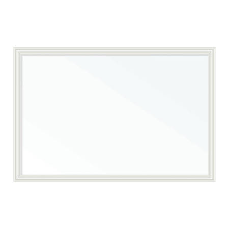 "U Brands Magnetic Dry-Erase Board, Steel, 30"" x 20"", White, White Décor MDF Frame"