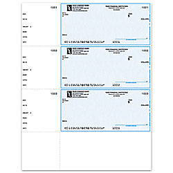 Laser Multipurpose Wallet Checks For Quicken