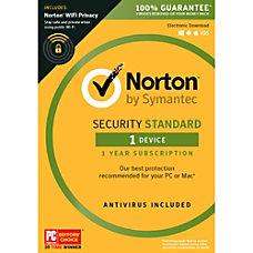Norton Security Standard 1 User 1