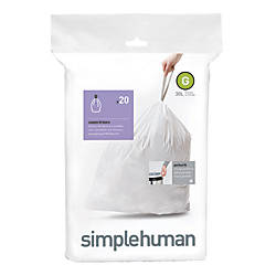 simplehuman Custom Fit Can Liners G