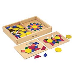 Melissa Doug Pattern Blocks And Boards