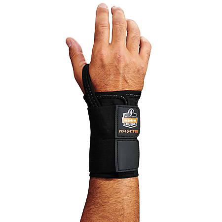Ergodyne ProFlex® Support, 4010 Left Wrist, Large, Black