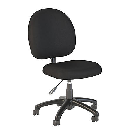 Bush Business Furniture Accord Task Chair, Black Fabric, Standard Delivery