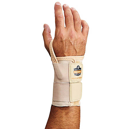 Ergodyne ProFlex® Support, 4010 Right Wrist, Medium, Tan