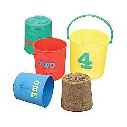 Melissa Doug Seaside Sidekicks Nesting Pails