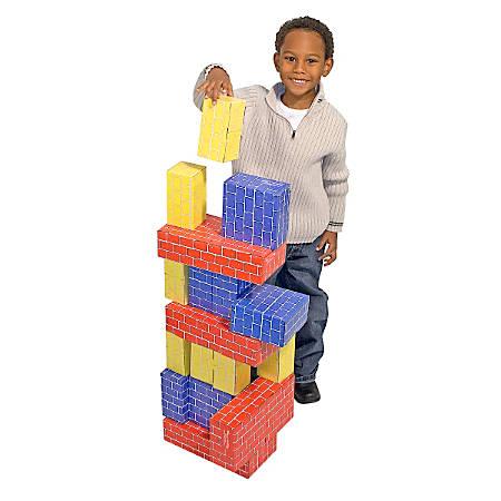 Melissa & Doug Jumbo Cardboard 24-Piece Blocks Set