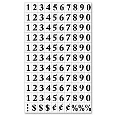 MasterVision Magnetic Numbers 34 x 12