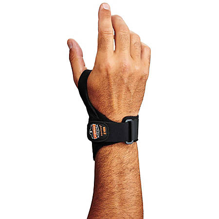 Ergodyne ProFlex® Support, 4020 Right Wrist, Medium, Black
