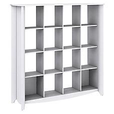 Bush Furniture Aero 16 Cube BookcaseRoom