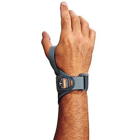 Ergodyne ProFlex® Support, 4020 Left Wrist, Medium, Gray