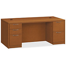 HON Valido Double Pedestal Desk 72