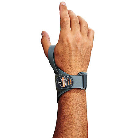 Ergodyne ProFlex® Support, 4020 Right Wrist, 2X, Gray