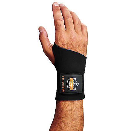 Ergodyne ProFlex® Support, 670 Wrist, X-Large, Black