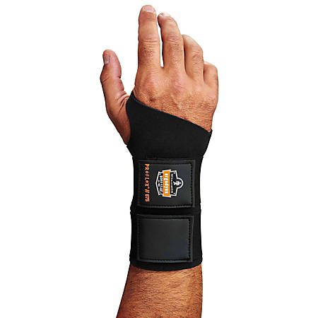 Ergodyne ProFlex® Support, 675 Wrist, Large, Black