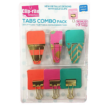 Clip-rite Fastener Set, Assorted Colors
