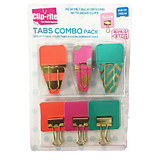 Clip rite Fastener Set Assorted Colors