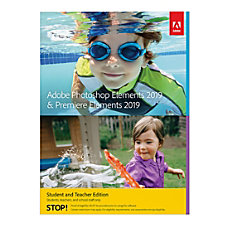 Adobe Photoshop Elements 2019 Premiere Elements