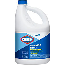 Clorox Concentrated Germicidal Bleach Concentrate Liquid