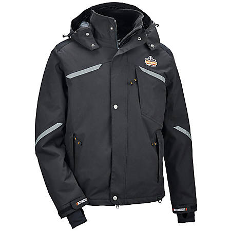 Ergodyne N-Ferno 6466 Thermal Jacket, 2X, Black