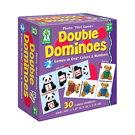 Key Education Photo First Games Double Dominoes