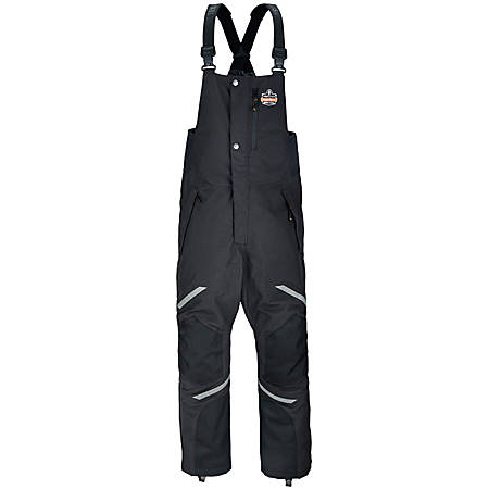 Ergodyne N-Ferno 6471 Thermal Bibs, Small, Black