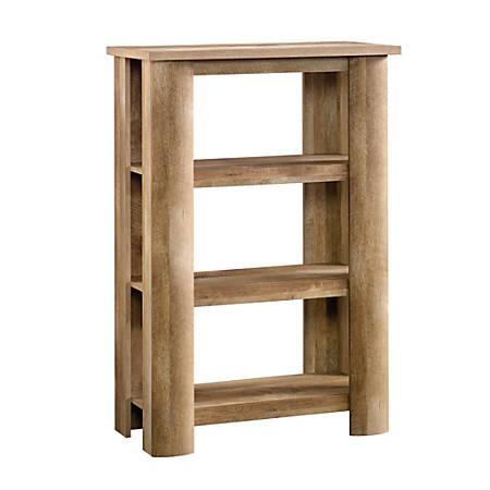 Sauder® Boone Mountain Bookcase, 3 Shelf, Craftsman Oak