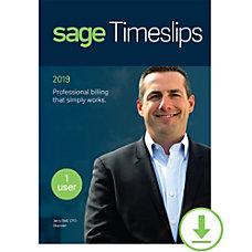 Sage Timeslips 2019 Time and Billing