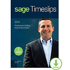 Sage Timeslips 2019 Time and Billing