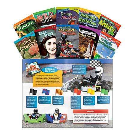 Teacher Created Materials TIME FOR KIDS® Nonfiction Book Set, Set 3, Set Of 10 Books, Grade 4