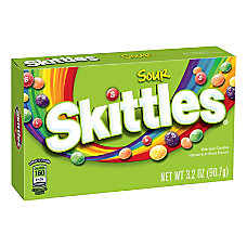 Skittles Sour Theater Style Boxes Pack
