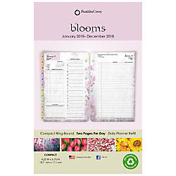 Franklin Covey Blooms Daily Planner Refill