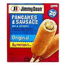 Jimmy Dean Pancakes Sausage On A