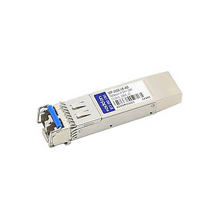 AddOn Aruba Networks SFP-10GE-LR Compatible TAA Compliant 10GBase-LR SFP+ Transceiver (SMF, 1310nm, 10km, LC, DOM)