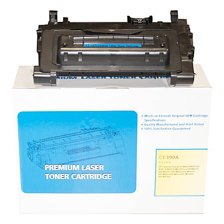 M&A Global Cartridges CE390A-CMA (HP CE390A) Remanufactured Black Toner Cartridge
