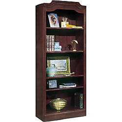 DMi Governors Collection Open Bookcase Mahogany