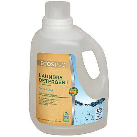 ECOS® PRO Laundry Detergent, 170 Oz, Free & Clear