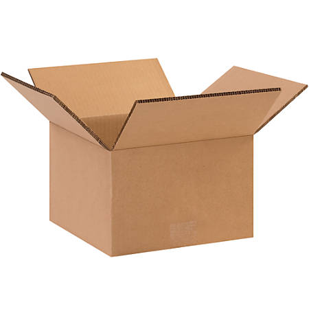 """Office Depot® Brand Double-Wall Corrugated Boxes, 6""""H x 10""""W x 10""""D, Kraft, Pack Of 15"""
