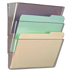 Universal 3 Pocket Expandable Wall File