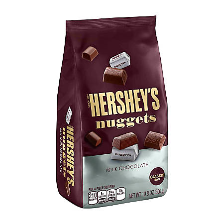 Hershey's® Milk Chocolate Nuggets, 10.8 Oz, Pack Of 3 Bags