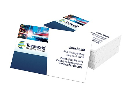 Standard Business Cards 3 12 X 2 14 Pt Glossy White Box Of 250