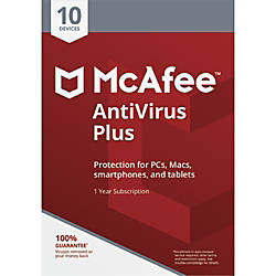 McAfee AntiVirus Plus 10 Device Download