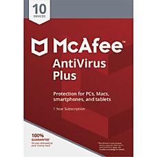 McAfee AntiVirus Plus 10 Device Download