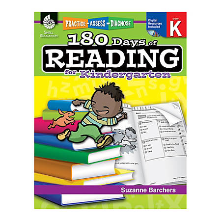 Shell Education 180 Days Of Reading Workbook, Grade 3