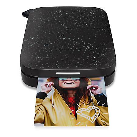 HP Sprocket 200 Wireless ZINK™ Thermal Printer, Noir, 1AS86A#B1H