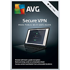 AVG Secure VPN 2019 1 PC